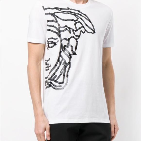 13aaa4605 Versace Shirts | Collection Half Medusa Print Tshirt | Poshmark